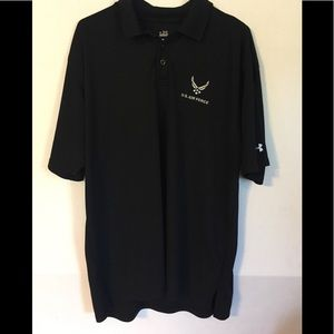 Under Armour US Air Force Polo Shirt Large